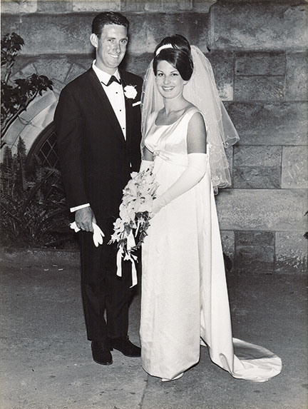 peter and deidre mitchell wedding photo