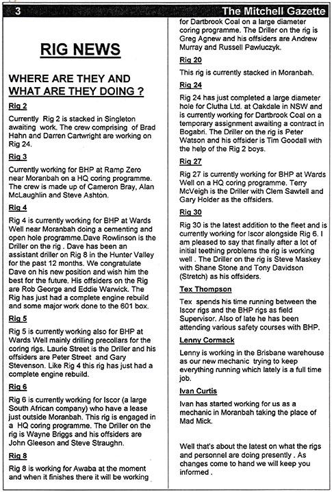 1995 rig news