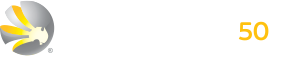 mitchell services with 50 years logo
